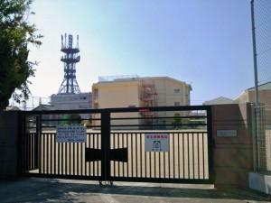 田辺第一小学校付近